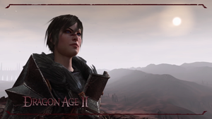 Dragon Age 2 Female Hawke by DemoniumAngel