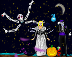 Terraria Day of the dead Halloween celabration by Daydallas