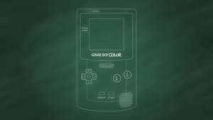 Nintendo Game Boy Color [Chalkboard] by BLUEamnesiac
