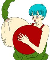 Bulma And Tentacle by toshis0