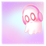 Napstablook by Riouku