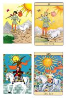 Comparison - cover and tarot by diana-hnd