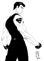 Superboy by DarkFurianX