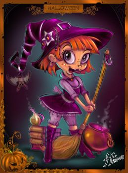 Pepper The Witch by 14-bis