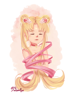 Sailor Moon Doodle by BemiTellove