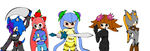Team Uniakau In MS Paint by AnimalCreation
