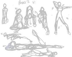 Poses2 by Fire-sama