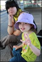 Summer 2009 - Pel and Daughter by pepelone