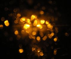 Golden Bokeh III by rockgem