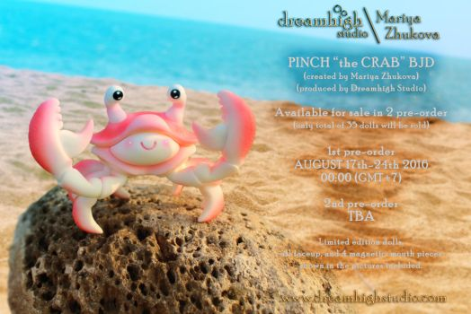 PINCH the crab BJD  by DreamHighStudio