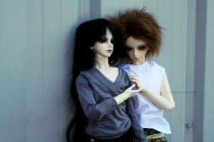 Mael to Vanyel together by SCHIZOPHRENIC-ALICE