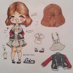 Ref Sheet: Nidra by Mianichan