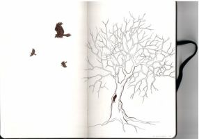 Moleskine - Tree by LiaT34