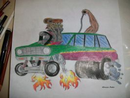 Monster Car by monster-assassin