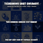 My Shirt Giveaway on Twitter - link in description by SarahRichford