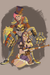 piltover's finest by AtomicRedBoots