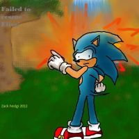 Sonic 06 radical train fail... by zackhedgi