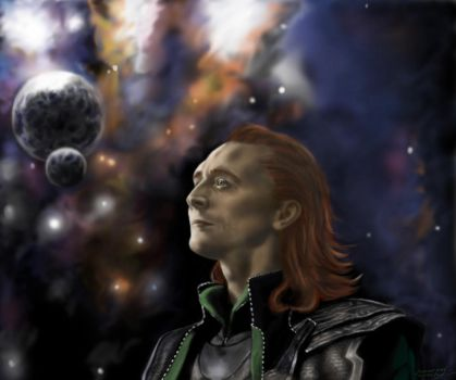 Loki-god of fire by VeronikaDark