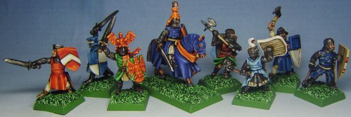 Bretonnian Warband by FraterSINISTER