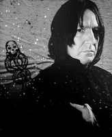 Severus Snape. by SomeSayMisery