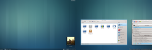 KDE Desktop - May 2012 by moparx