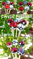 Crystal Pokeballs by GandaKris