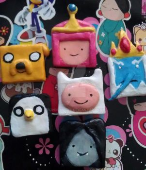ADVENTURE TIME magnets by MeowMowRaa
