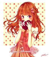 Happy Valentine's Day! [+Speedpaint] by YuriqueS