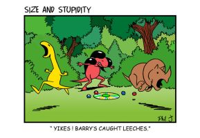 Leeches by Size-And-Stupidity