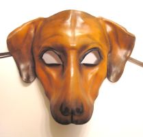 Leather Dog Mask Ridgeback or by teonova