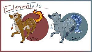 ElemenTails Adoptables CLOSED by MissMellifluous