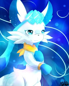 Glaceon (GOTU) by ShadowSnivy14