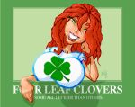 Molly 4 leaf clover by Gib-Art-and-Pinups