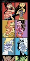The Women of Marvel / Shaken and Stirred by BillWalko