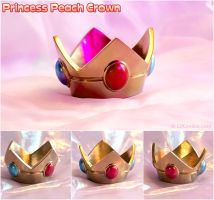 Princess Peach Crown - Nintendo by LiKovacs