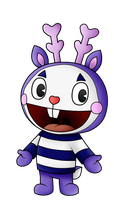 Mime Happy Tree Friends Png by Miqita