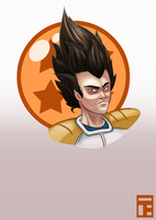 Saiyajin Prince by Lt-Action