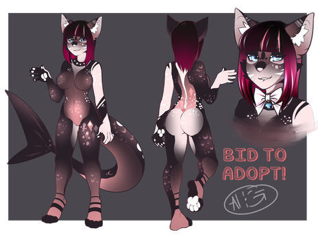 Black fish - Auction adopt CLOSED by Negatable