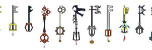 Keyblades by Tuba92