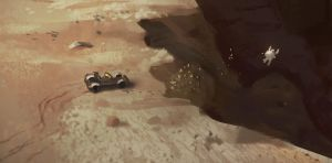 Mars Jump (Spitpainting Group) by Kurobot