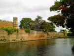 Castle and moat by Mixdown13