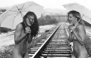 Laughing in the Rain by Undercheese101