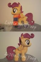 my little pony Scootaloo plush by Little-Broy-Peep