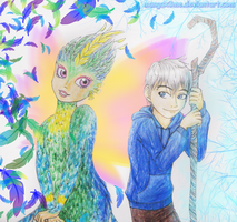 ROTG - Jack and Toothiana by MangaX3me