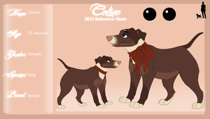 Celine Reference Sheet 2013 by Aiyana-Kopa