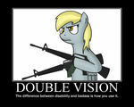 Double Vision by totallynotabronyFIM