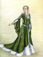 The Lady of the Green Wood by MyWorld1