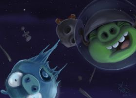 Angry Birds SPACE II by bradsmith20
