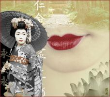 geisha by yvilmonster