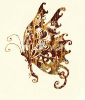 The Wooden Butterfly by nuriendil